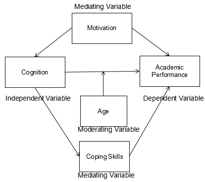 "alt=""Mediating and Moderating variables in the Conceptual Framework"""