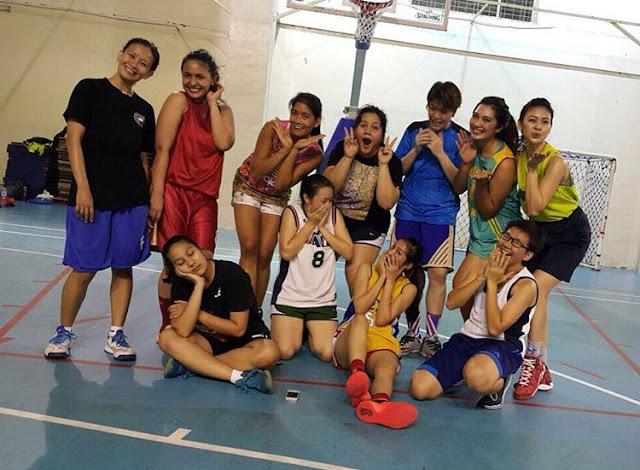 Foto Hanum Fasya Pemain Basket Cantik