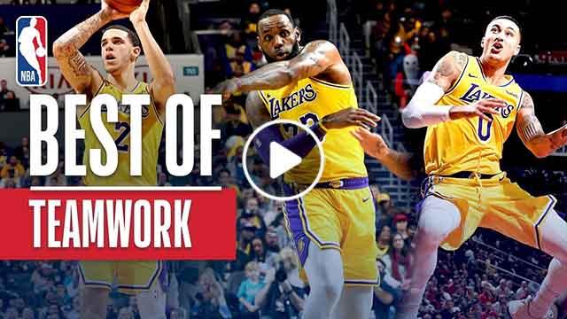 Best of NBA Teamwork Plays So Far - December 24, 2018
