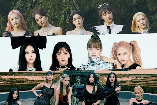 Daftar 30 Girl Group Terpopuler Bulan April 2020