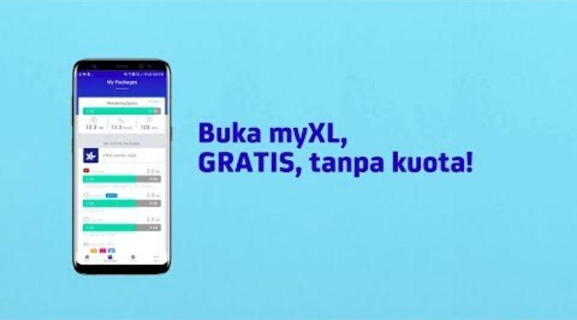 Bagi pulsa melalui aplikasi myxl