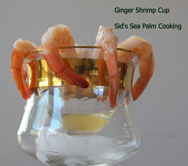 Ginger Shrimp Cup
