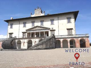 Primo piano di Villa Ambra Medici