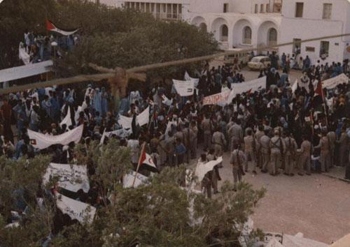 30 minutos, el tiempo que dio el jefe de la Legión en el Sáhara para reprimir violentamente a los manifestantes saharauis.