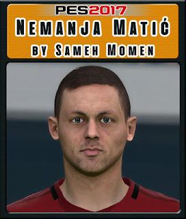 PES 2017 Faces Nemanja Matic by Sameh Momen