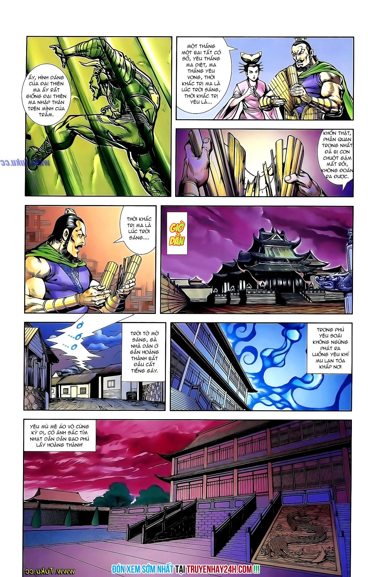 Cơ Phát Khai Chu Bản chapter 135 trang 30