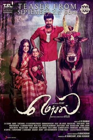 Mersal (2017) Tamil Audio Download 480p 720p HDRip