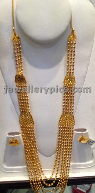 Traditional Chadraharam Latest Jewellery Designs