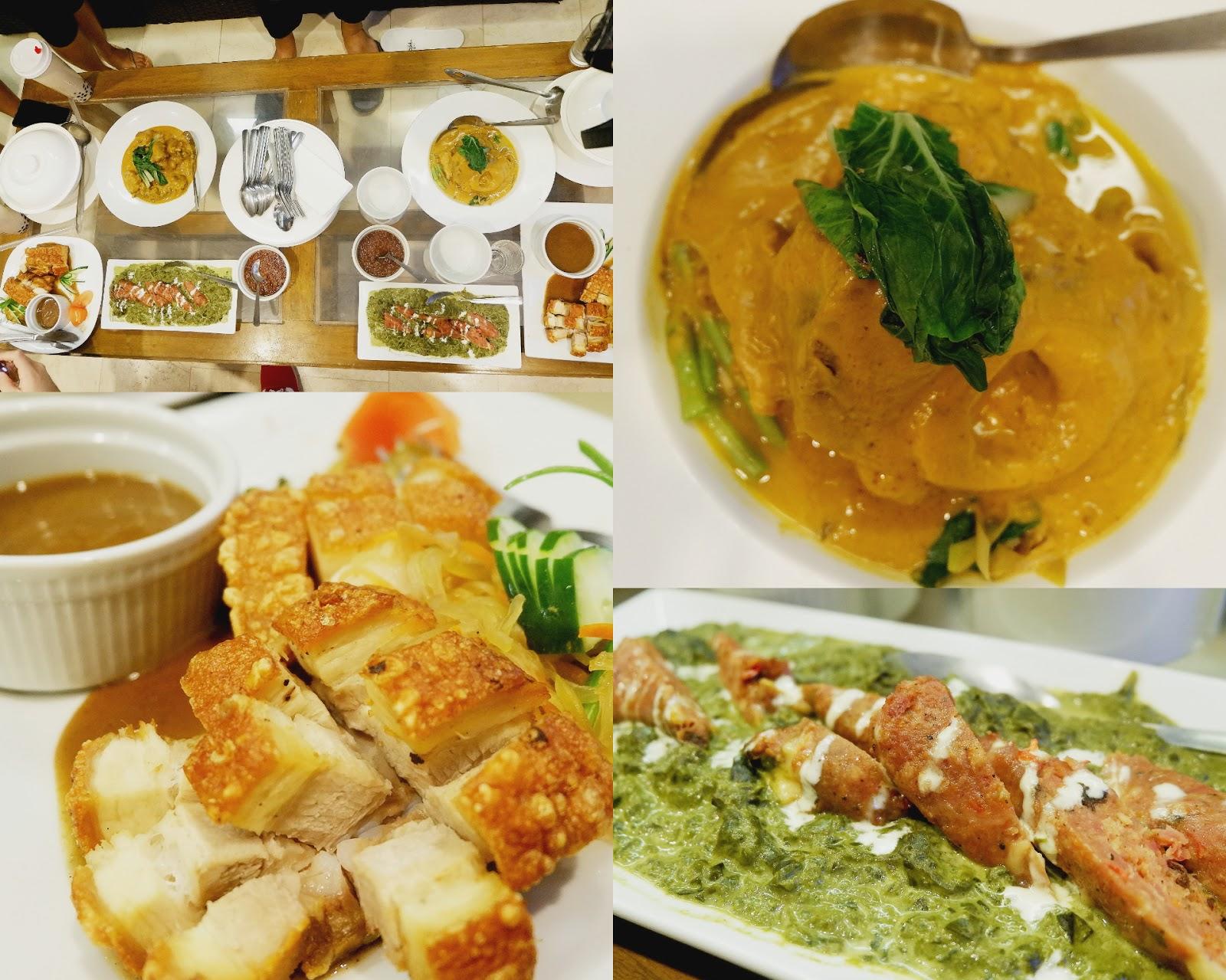 yummy dinner at selah garden hotel