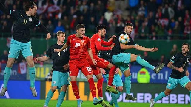 Österreich siegt gegen Mazedonien und löst EM-Ticket
