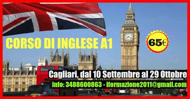 CORSO DI INGLESE DAL 10 SETTEMBRE AL 29 OTTOBRE