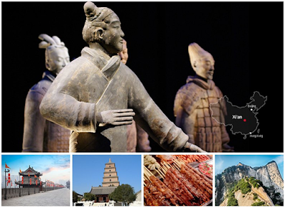 most famous city  and ancient capital of china