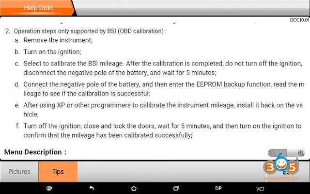 obdstar-PSA-contachilometri correzione-manuale-9