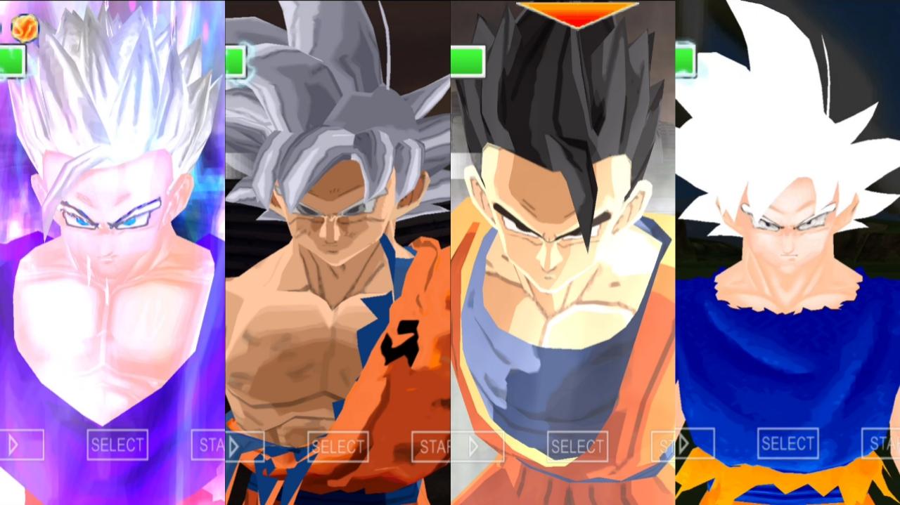 DBZ TTT BT4 MOD download Goku Ultra Instinct