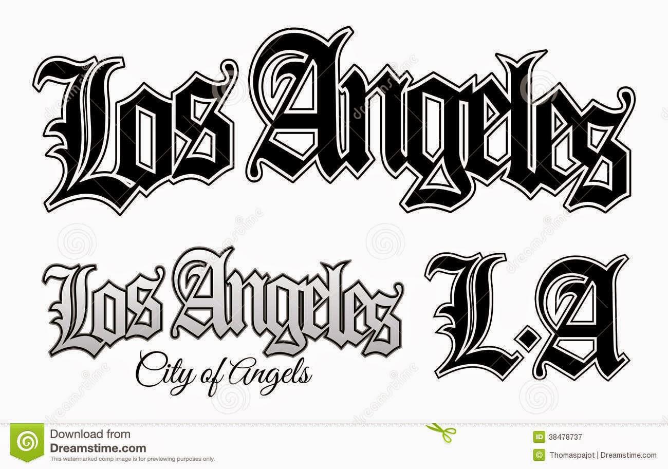La Gangs Tattoos