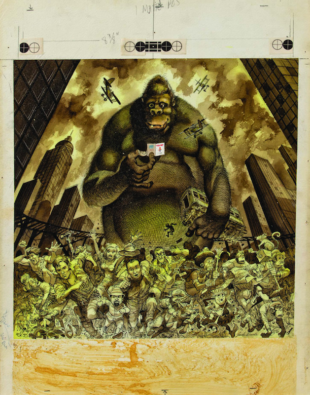 King Kong (1957), by Jack Davis.