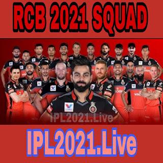 IPL 2021 :  Royal challengers Bangalore Squad