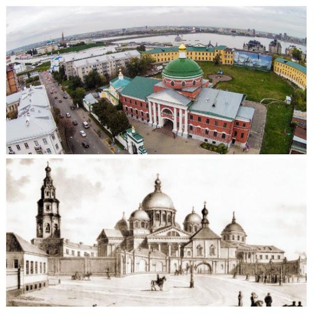 Богородицкий женский монастырь. Казань