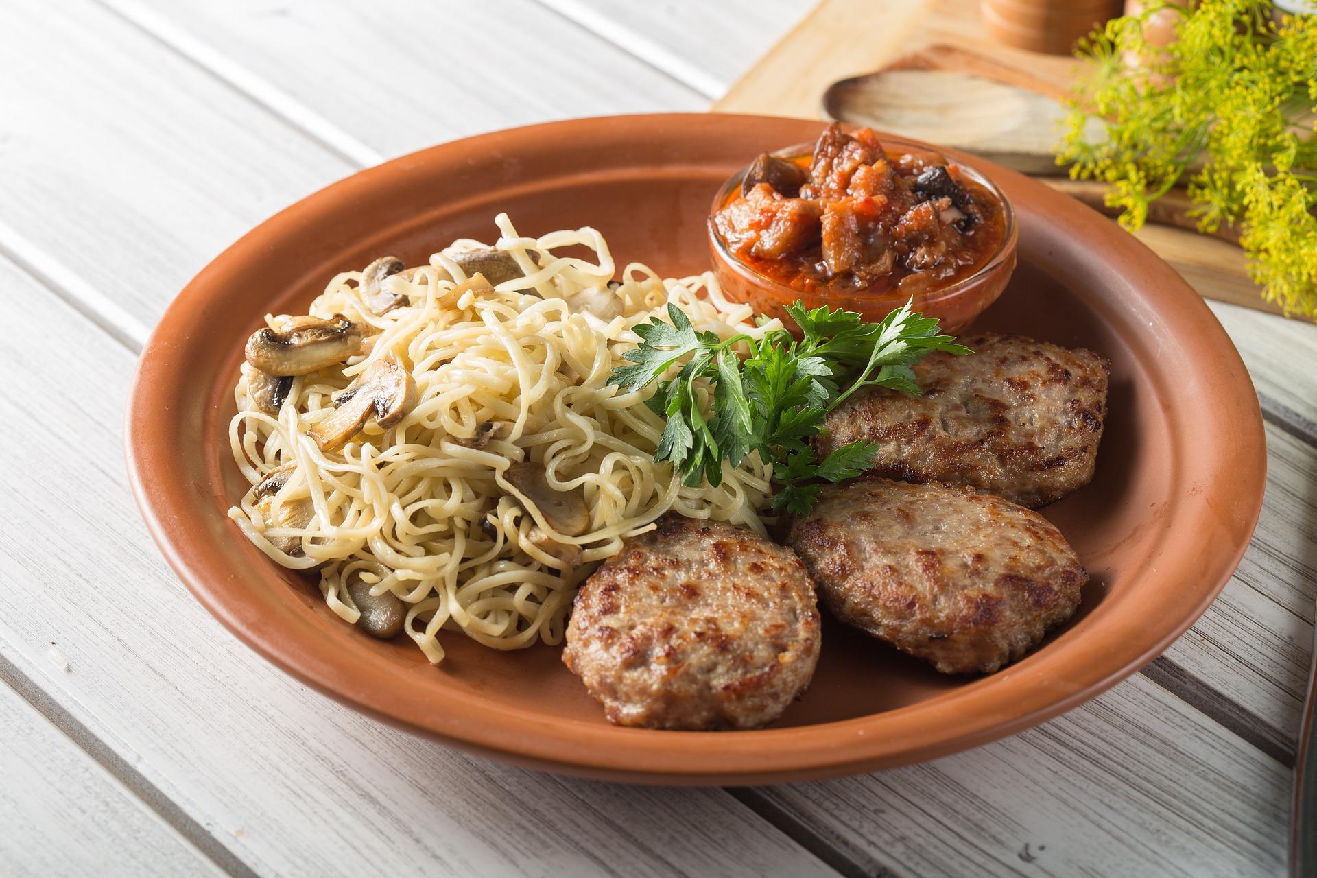 Recipe for Spaghetti al Dente, Italian Meatballs