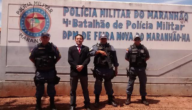 MP-MA verifica deficiências nas unidades policiais de Riachão