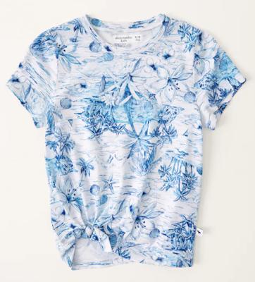 Abercrombie Kids Side Tie Shirt