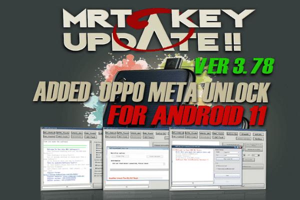 Download MRT Key V3.78 Latest Setup, Support Android 11