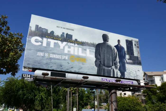 City on a Hill series premiere billboard