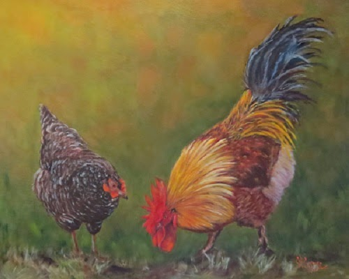 """Biltmore Chickens""-  SOLD!"
