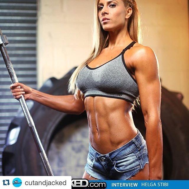 Fitness Model Helga Stibi @helgastibi