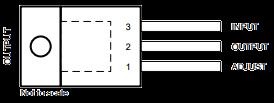 أطراف LM317