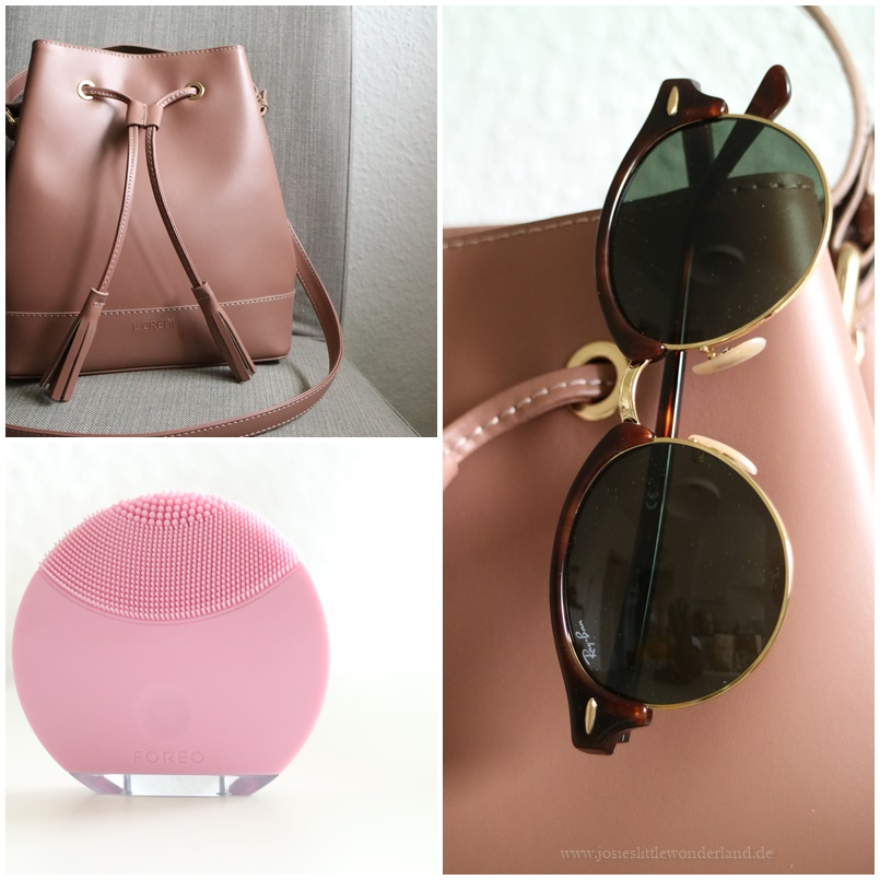 Wochenrückblick | Sunny Sunday #99 - www.josieslittlewonderland.de - foreo mini, ray ban clubround 2016, l.credi bag altrosé, shoppingausbeute, beauty, fashion, personal style