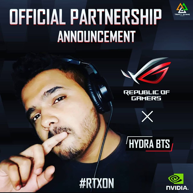 Hydra Bts pubg id