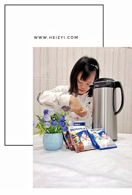 Indomilk Susu Bubuk Coklat