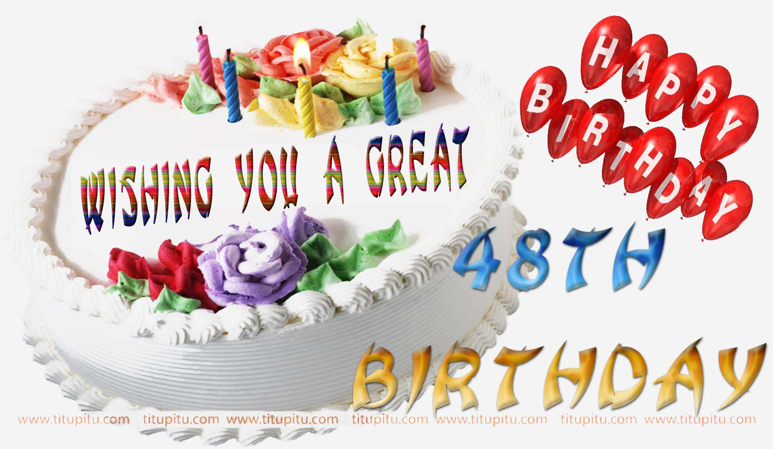 48th Birthday Wishes Message And Wallpaper For Everyone