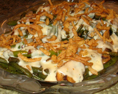 Green Bean Casserole Remix