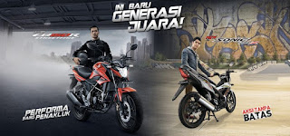 Honda All New CB150R & New Sonic 150R