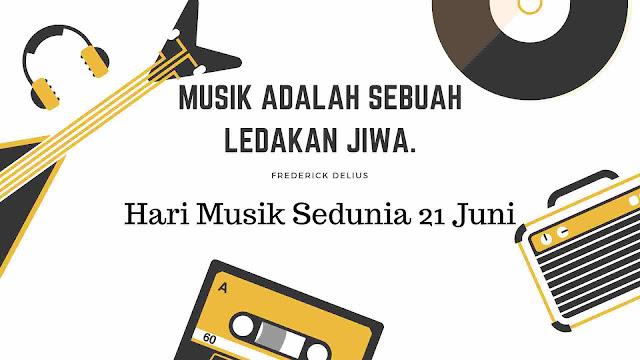 Sejarah Peringatan Hari Musik Dunia 21 Juni