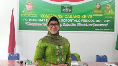 Pimpin Muslimat NU Kota Gorontalo, Ini Visi Misnawaty Nuna