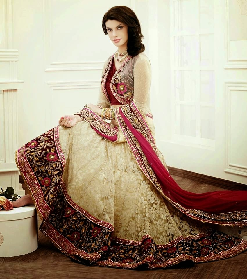 Bridal Winter Lehenga Collection 2014-2015 For Women