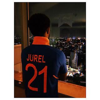 Dhruv Jurel Jersey Number