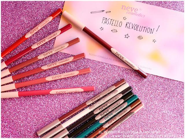 BioPastello Neve Cosmetics  pastello revolution