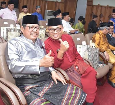 Wakapolda Jambi Dan KA BNNP Jambi Hadiri Sidang Paripurna HUT Provinsi Jambi Yang Ke-63