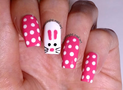 Easter Nails: Rabbit Nail Art Tutorial