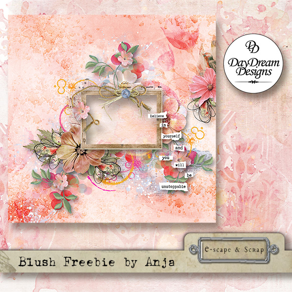 Freebie Quik page from DayDream Designs
