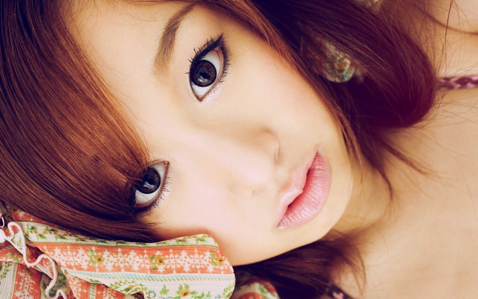cute faces japanese models wallpapers