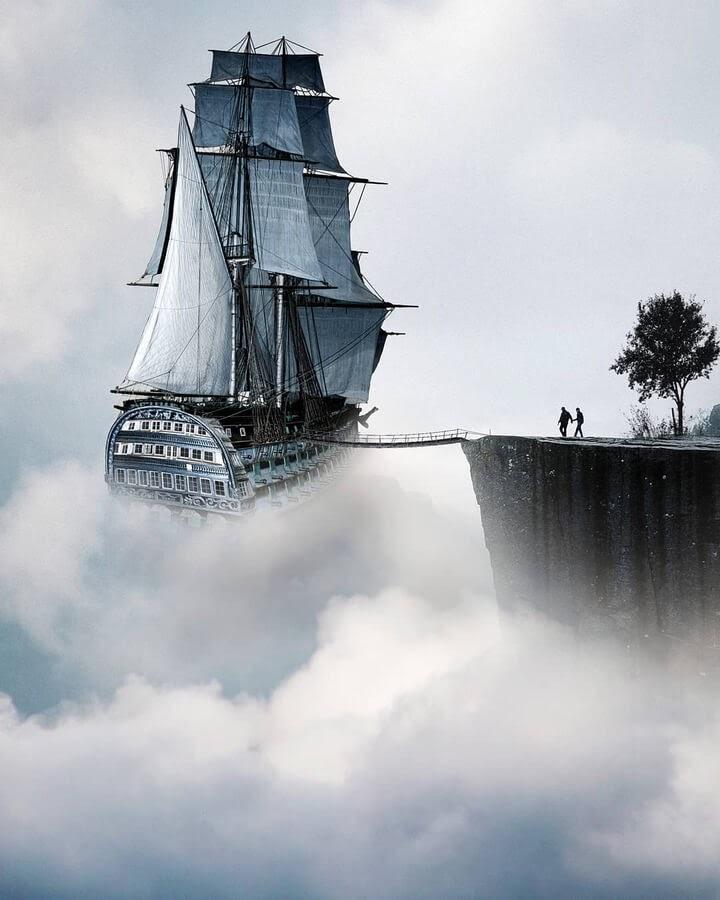 11-Fantasy-ship-Murat-Akyol-www-designstack-co
