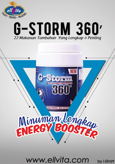 G-STORM 360' : Penyelesaian kepada masalah gastrik, pedih ulu hati dan ketakselesaan perut.
