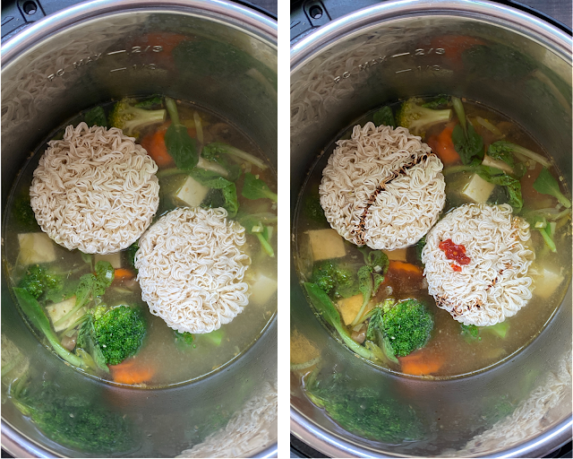 Instant Pot Ramen Soup Steps 4
