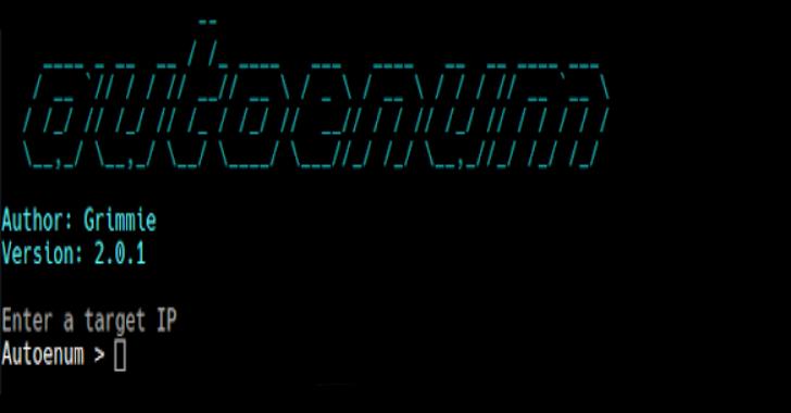 Autoenum : Automatic Service Enumeration Script