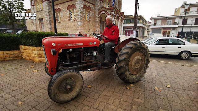 Στους δρόμους οι αγρότες της Αργολίδας (βίντεο)